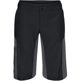 VAUDE Downieville Shorts Men black/anthracite print